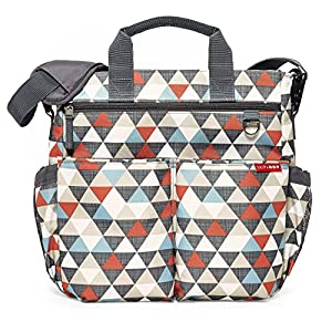 Skip Hop Duo Signature Changing Bag (Triangle) by Skip Hop