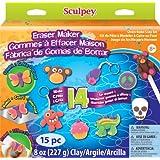 Sculpey Eraser Maker Activity Kit 15pc, 8 oz