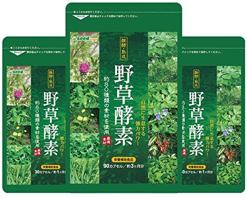 野草酵素 約5ケ月分 (約80種類の自然が持つ栄養素を配合)