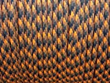 Open Season 550 Paracord 100 Feet / 100ft Nylon 7 Inner Strand Parachute Cord