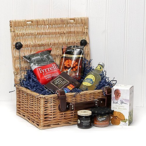50th Birthday Gift Basket For Men: Hampers Under £30 Christmas Gift Sets For Him And Her