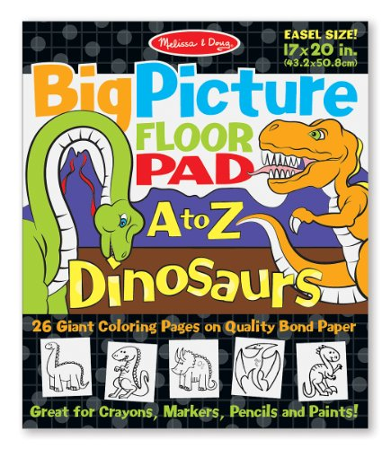 Melissa & Doug Big Picture Floor Pad A to Z Dinosaurs - 1