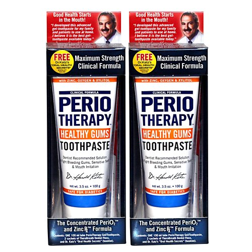 Dr. Katz Therabreath Periotherapy Healthy Gum Toothpaste, 3.5Oz (Pack Of 2)