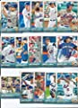 New York Mets 2015 Topps MLB Baseball Regular Issue Complete Mint 25 Card Team Set with David Wright, Matt Harvey, Curtis Granderson Plus