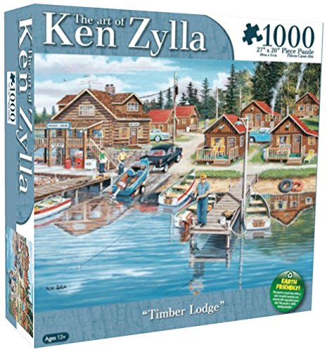 Karmin International Ken Zylla Timber Lodge Puzzle (1000-Piece)