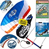 HQ Hydra II 420 V2 Kiteboarding Trainer Kite Bundle : Including Progression Beginner... by HQ Power Kites, Fat Sand Video Productions, IKO, WindBone