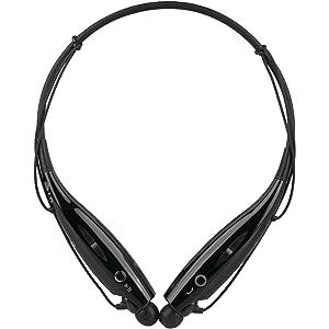 LG Electronics HBS-730.ACUSBKK Tone and Bluetooth Headset, Black
