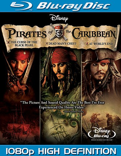 Cover art for  Pirates of the Caribbean Trilogy [Blu-ray]