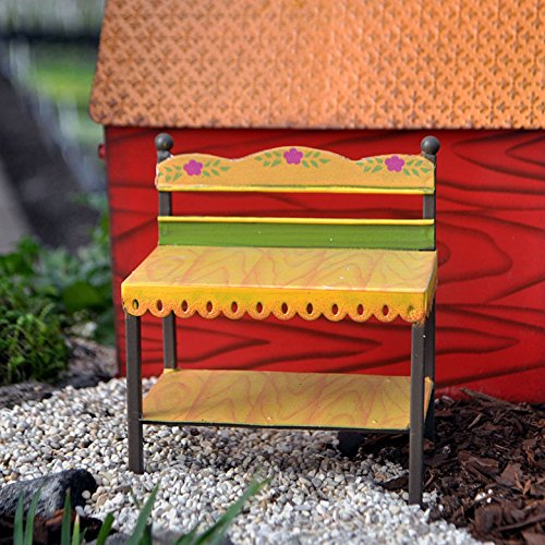 Studio M - Gypsy Fairy Garden -NEW Mini Potting Bench GG263