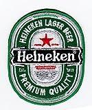 Aufnäher Bügelbild Aufbügler Iron on Patches Applikation Heineken Bier Beer