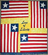 Love of Liberty: The Liberian Flag Story and Quilt Pattern
