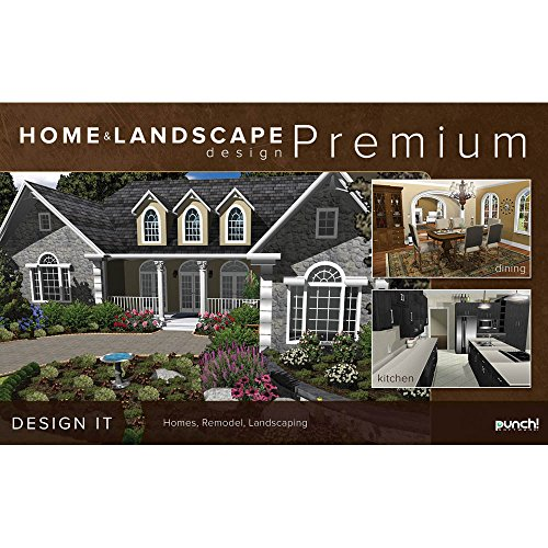 punch home landscape design premium v18 for windows pc software computer software multimedia. Black Bedroom Furniture Sets. Home Design Ideas