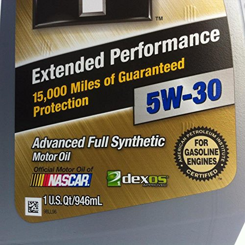 Mobil 1 5w 30 extended performance full synthetic motor for How often to change full synthetic motor oil