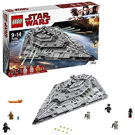 LEGO - 75190 - Star Wars - Jeu de construction - First Order Star Destroyer