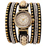 GATTS Wrist Watch For Girls Gold