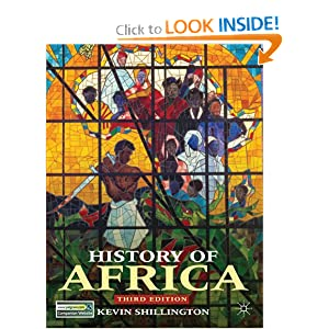 History of Africa by Kevin Shillington