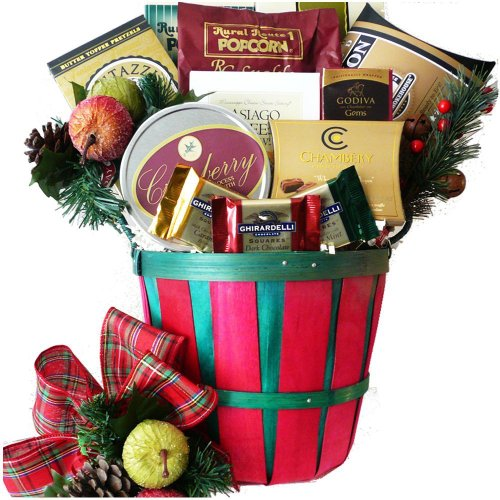 Art Of Appreciation Gift Baskets Gourmet Greetings Christmas Holiday Basket With Smoked Salmon
