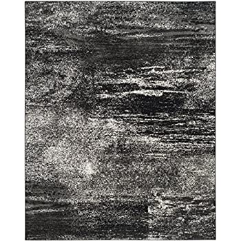 Safavieh Adirondack Collection ADR112A Silver and Black Modern Abstract Area Rug (8 x 10)