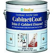 Insl-X CC4510092-01 Cabinet Coat Enamel-SAT WHITE CABINET ENAMEL