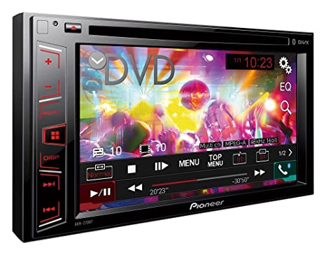 "Pioneer MIXTRAX AVH-270BT Autoradio MP3/USB 6,2"" Bluetooth Noir"