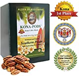 Senseo Pods of Southern Pecan Flavored Kona Blend Coffee, 18 Pods, Reusable Pod Adapter is Available for K-cup Brewing