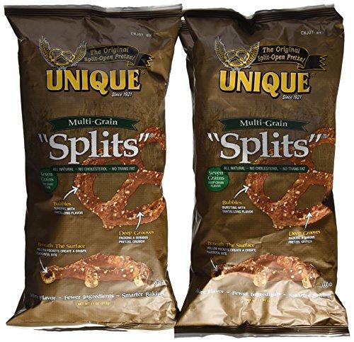 Unique Multi-Grain Pretzel Splits, 11 Oz. Bag (Pack of 4 Bags) (Unique Pretzel Splits compare prices)