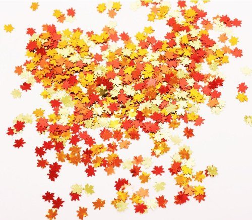 Review Creative Converting Fall Leaves Confetti