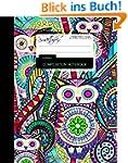 Owls Composition Notebook: College Ru...