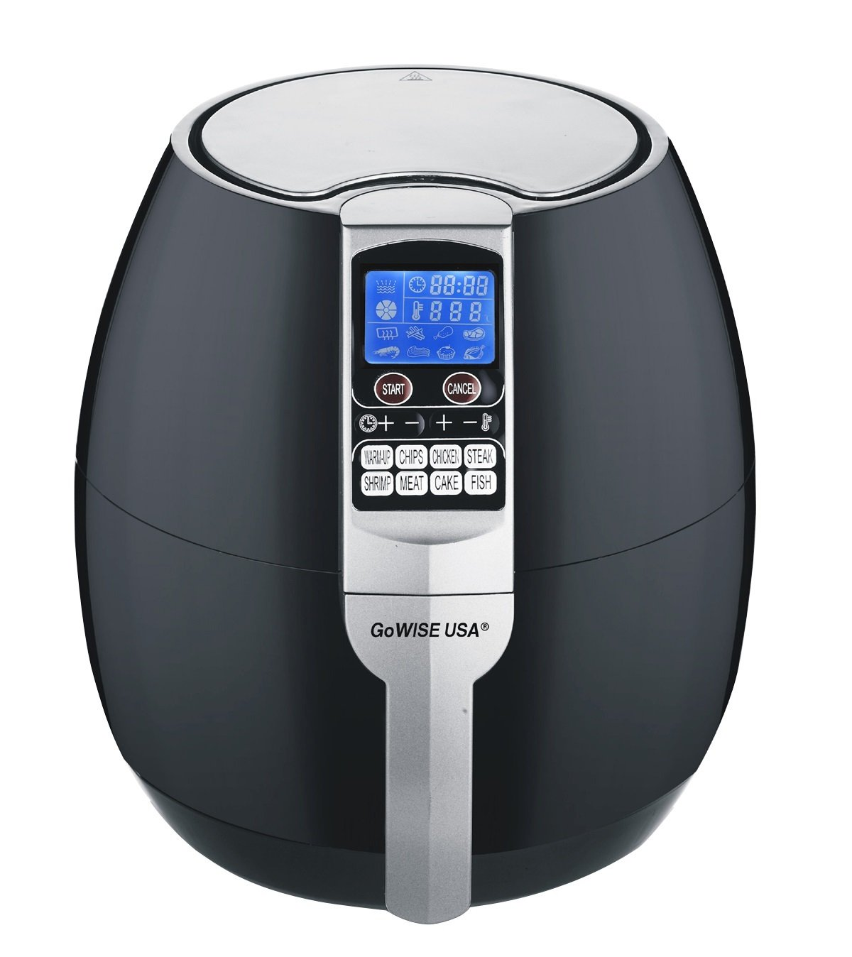 GoWISE USA 8-in-1 Electric Air Fryer with Digital Programmable Cooking Settings 2.5 QT