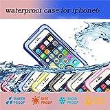 【F.G.S】ブルー 防水ケース iphone 6 plus 5.5インチ対応 防水カバー スマホ 100%完全防水 全5色 F.G.S正規代理品