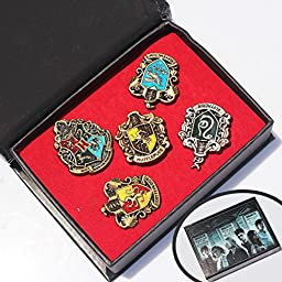 Hot Sale New Arrival Harry Potter Movies Jewelry Brooches Potter Pins High Quality Zinc Alloy