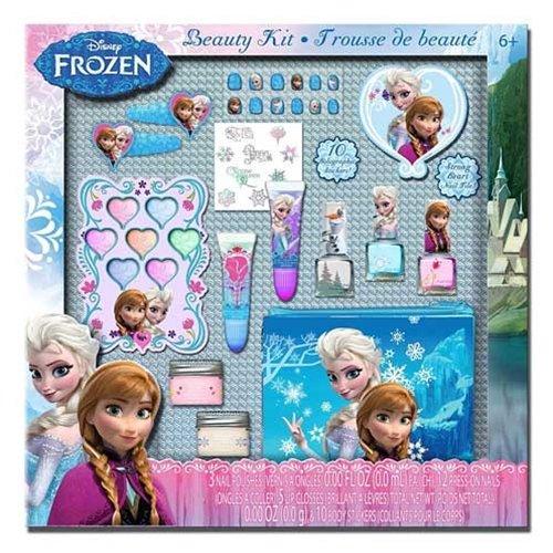 Disney Frozen Complete Beauty Kit - 70 pcs - nail polish, nail art, & more
