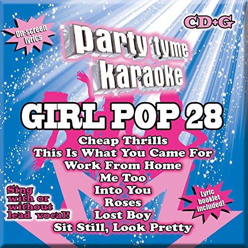 Party Tyme Karaoke - Girl Pop 28 [8+8-song CD+G]