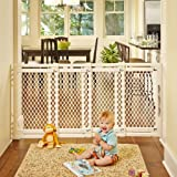 North-States-Supergate-Extra-Wide-Gate-Ivory
