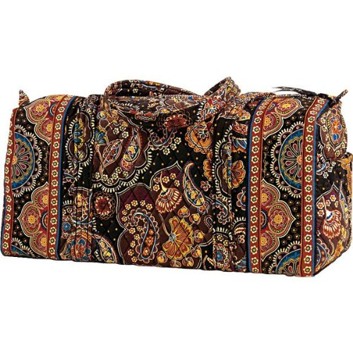 Amazon.com: Vera Bradley Small Duffel Bag in Kensington