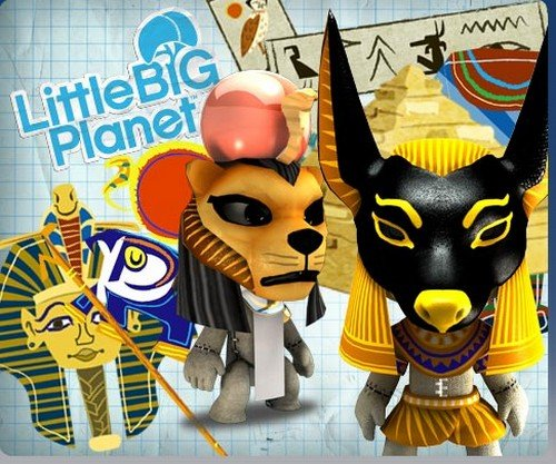 LittleBigPlanet: Egyptian Mini-Pack [Online Game Code - Game Add-on]