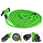 100ft Most Heat-resistant Water Garden Pipe Expandable Hose As Seen on Tv,green