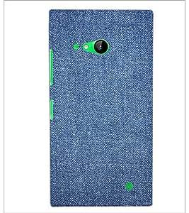 PrintDhaba Denim D-2411 Back Case Cover for NOKIA LUMIA 730 (Multi-Coloured)