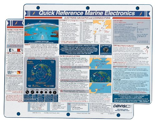 Davis Instruments Marine Electronics Quick Reference Card
