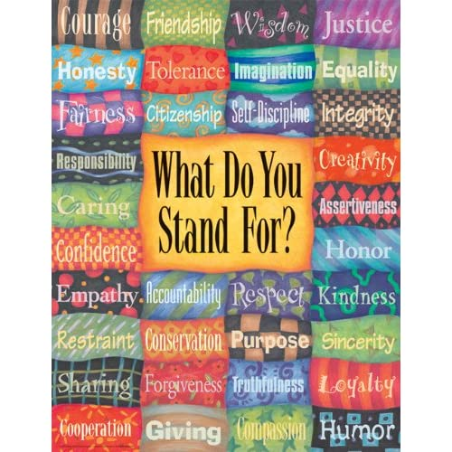 What Do You Stand For? Poster: Free Spirit Publishing: 9781575424019