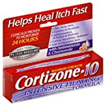 Cortizone-10 Anti-Itch Creme, Maximum Strength, Intensive Healing Formula 1 oz (28 g)
