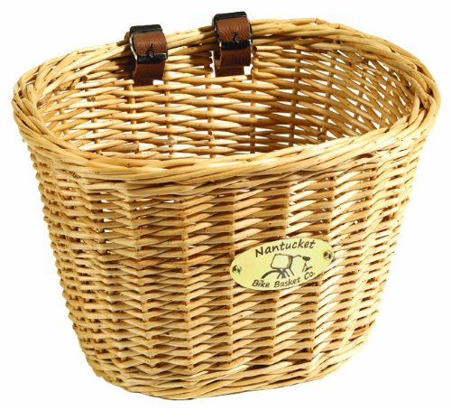 Nantucket Bike Basket CompanyDionis Collection Bike Basket (Natural, Adult)