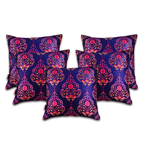 Nostaljia 40cm x 40cm Digital Printed Cushion Cover Set Of 5