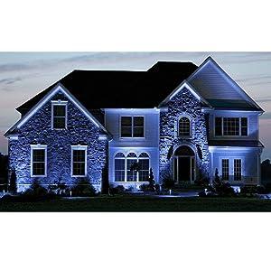 GE 85 Watt Halogen PAR38 Outdoor Flood Light Bulbs, Blue Light Bulb, Glass, 120V, Wet Rated, E26 Medium Base (2 Pack) (Color: Blue)