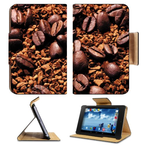 Espresso Coffee Beans Scatter Roasted Google Nexus 7 First Generation Flip Case Stand Magnetic Cover Open Ports Customized Made To Order Support Ready Premium Deluxe Pu Leather 7 7/8 Inch (200Mm) X 5 Inch (127Mm) X 11/16 Inch (17Mm) Luxlady Nexus 7 Profes