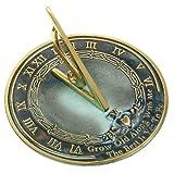 Rome RM2308 Brass Sundial