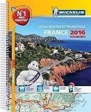 Atlas France 2016 Spirales Michelin...