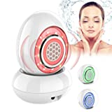 Red Light Photon Therapy Machine RF Radio Frequency Lifting Skin Wrinkle Removal Beauty Rejuvenation Water Spray Skin Care Tools,White (Color: White)