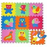 Puzzle animaux tapis