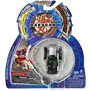 Zoompha (Darkus - Black) : Bakugan Mechtanium Surge Mobile Assault -
